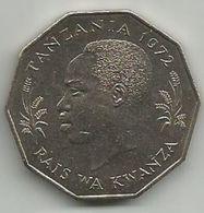 Tanzania 5 Shilingi 1972. FAO KM#6 High Grade - Tanzanie