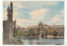 1967 PRAG CZECHOSLOVAKIA Postcard To Germany Stamps Cover Prague - Czech Republic