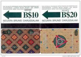 BRUNEI: 2 TK Autelca $10 And $20. Old 1994 - Brunei