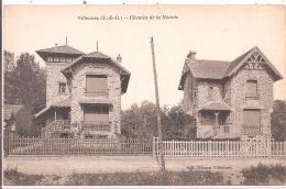 CPA -  Villennes - Chemin De La Nourée - Villennes-sur-Seine