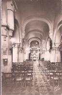 CPSM -  Villennes -  Église Intérieure (XIe Siècle) - Villennes-sur-Seine