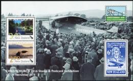 NEW ZEALAND 2016 Christchurch Stamp Exhibition Fauna MNH - New Zealand