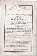 Image Mortuaire - Saint Saulve (Nord) - Armentières - MOREAU Adélaïde - Décès