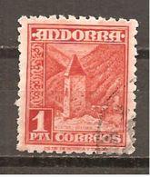 Andorra Española - Edifil 54 - Yvert 49 (usado) (o) - Spanish Andorra