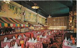 Etats-Unis   NEW YORK RESTAURANT LA BOURGOGNE 1960 - Cafés, Hôtels & Restaurants