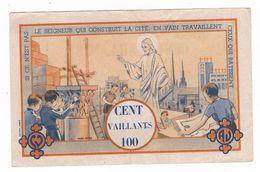MONNAIE De SCOUTS . Billet De 100 Vaillants . - France
