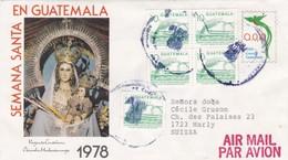 Virgen De Candelara. Semana Santa En Guatemala 1978 - Guatemala