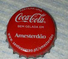 Capsule,Bottle Cap Coca-Cola Amesterdão.Coca-Cola Portugal - Soda