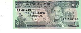 Ethiopia P.30a 1 Birr 1976 Unc - Etiopia