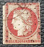 Cérès N° 6B Avec Oblitération D'Epoque à 5% De La Cote, Etat Bien - 1849-1850 Cérès
