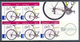 E9- Australia 2015 Bicycles. Self Adhesive Stamps. - Australia