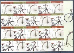 E30- Australia 2015 Bicycles. Self Adhesive Stamps. - Australia