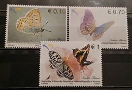 Kosovo, 2012, Mi: 216/18 (MNH) - Vlinders