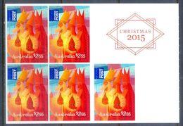 E4- Australia Christmas 2015.  Self Adhesive Stamps. - Australia