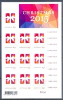 E6- Australia Christmas 2015. Self Adhesive Stamps. - Australia