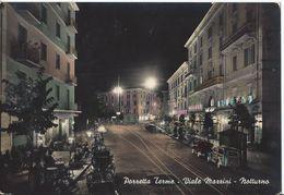Porretta Terme - Viale Mazzini - Notturno - H4059 - Bologna