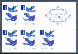 E8- Australia Christmas 2015. Animal. Pigeon. Self Adhesive Stamps. - Australia