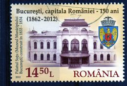 ++ RUMANIA / ROMANIA / ROUMANIE Año 2012  Usada  Bucuresti - 1948-.... Republics