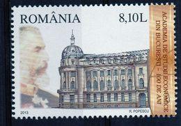 ++ RUMANIA / ROMANIA / ROEMENIE Año 2013  Usado  Academia De Estudios Económicos - 1948-.... Republics