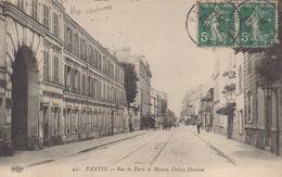 Pantin : Rue De Paris Et Maison Delizy Doistau - Pantin