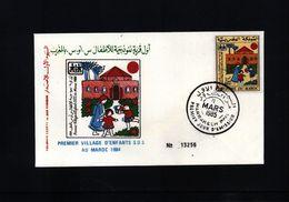 Morocco 1985 Children's Villages - Marruecos (1956-...)