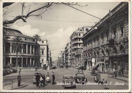 Palermo - Piazza Politeama E Via Amari - H4065 - Palermo
