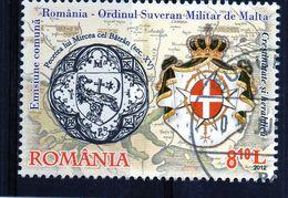 ++ RUMANIA / ROMANIA / ROEMENIE Año 2012  Usado  Orden Soberana Militar De Malta - 1948-.... Repúblicas