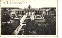Bruxelles - CP - Brussel - Arcades Et Musée Du Cinquantenaire - Musea