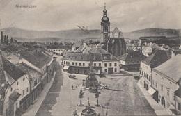 NEUNKIRCHEN (NÖ) - Hauptplatz, Schöne Karte Gel.1909? Nach Wien, Gute Erhaltung - Neunkirchen