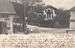 LAABEN (NÖ) - Villa Füssel, Seltene Schöne Karte Gel.1909? Nach Wien, Gute Erhaltung - Autriche