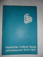 Deutscher Fussball-Bund 1970/1971 - Books, Magazines, Comics