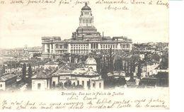 Bruxelles - CPA - Brussel - Vue Sur Le Palais De Justice - Panoramische Zichten, Meerdere Zichten