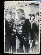 PHOTO FOTO WW2 WWII : Elite TANKISTE Allemand - PANZERWAFFE - Guerra, Militari