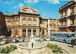 Catania-Teatro Massimo-Auto,car,automobile,pulmann,bus- - Catania