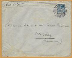 8Nb-968: N° 156: AMSTERDAM - CENTRAAL STATION -4.IV. 9V / 11  1925 > Sabang - Lettres & Documents