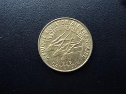 CAMEROUN : 10 FRANCS  1958   KM 11    SUP - Cameroon