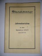 Württembergischer-Fussballverband E.V. 1970/71 & 1971/72 - Livres, BD, Revues