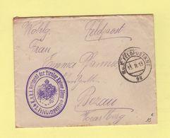 Feldpostamt 98 - 1 Regiment Der Tiroler Kaiser Jager - 1915 - Covers & Documents