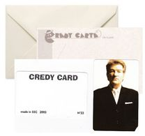 EDDY MITCHELL Credy Card N° 22 - Célébrités
