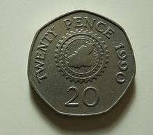 Guernsey 20 Pence 1990 - Guernsey