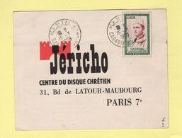Casablanca Oasis - Jericho Centre Du Disque Chretien - 1959 - Maroc (1956-...)