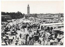 MARRAKECH - Place Djemaa El Fna - Ed. Bertrand N° M-75 - Marrakech