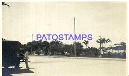 91874 BRAZIL BRASIL SANTOS SAO PAULO GUARUJA PLAZALETA FRENTE HOTEL YEAR 1924 PHOTO NO POSTAL POSTCARD - Fotografie