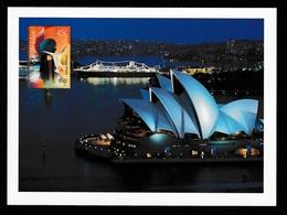 """AUSTRALIA 2004 """"Impressions"""" Sydney Opera House: Postcard MINT/UNUSED - Interi Postali"""