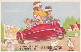 Groeten Uit Zeebrugge - Un Bonjour De - Zeebrugge