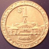 $1 Casino Token. Harrahs AK-CHIN, Phoenix, AZ. D51. - Casino