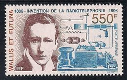 Wallis Et Futuna: Yvert N° PA 193 (Marconi, Invention De La Radiotéléphonie 1996) Neuf ** - Airmail