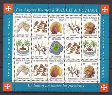 Wallis Et Futuna: Bloc Yvert N° 17 (Algues Brunes 2004) Neuf ** - Blocks & Sheetlets