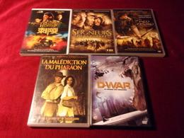 LOT DE 5 DVD   POUR 10 EUROS ( Lot 30 ) - DVDs