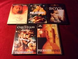 LOT DE 5 DVD   POUR 10 EUROS ( Lot 19 ) - DVDs